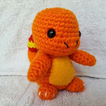 Charmander Amigurumi Plush from Pokemon