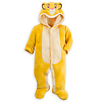 Simba Hooded Romper for Baby