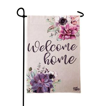 Garden Flag - Welcome Home Double Sided Decorative Flags for Outdoors - Weather Tested and Fade Resistant USA Designed - Best for Party Yard and Home Outdoor Decor - 12x18 inches