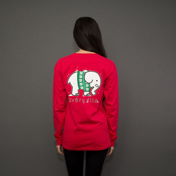 Scarlet Sweater Party Tee