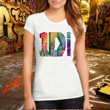 One Direction 3D T Shirt Printed T Shirt, Women T Shirt, (Various Color Available)