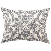 DL Rhein Frequency Embroidered Pillow