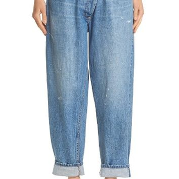 Monse Wrap Waist Jeans (Rinsed Blue) | Nordstrom