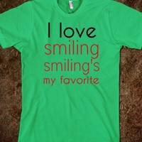 I love smiling - Taylor's boutique.