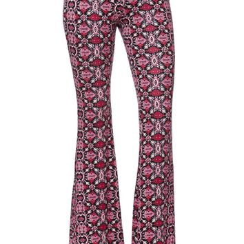 LA Hearts Knit Flare Light Weight Pants - Womens Pants