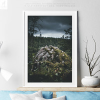 Moody Art Print With A Wanderlust Scenery, Nature Print, Wanderlust Print, Nature Photography, Nature Wall Art, Wall Decor, Modern, Original