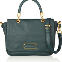 Marc by Marc Jacobs | Too Hot to Handle textured-leather shoulder bag | NET-A-PORTER.COM