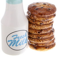 Cookies and Milk Salt and Pepper Shakers