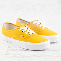 Authentic Lite Canvas Sneaker - Golden Yellow/True White