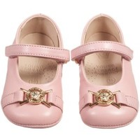Baby Girls Pale Pink Leather Pre-Walker Shoes