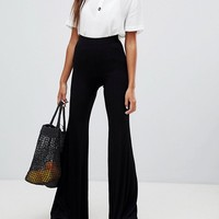 Bershka flare PANTS at asos.com