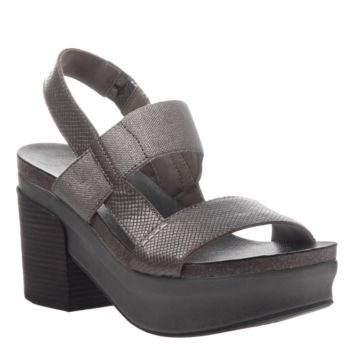 NEW OTBT Women's Sandals Indio in Pewter