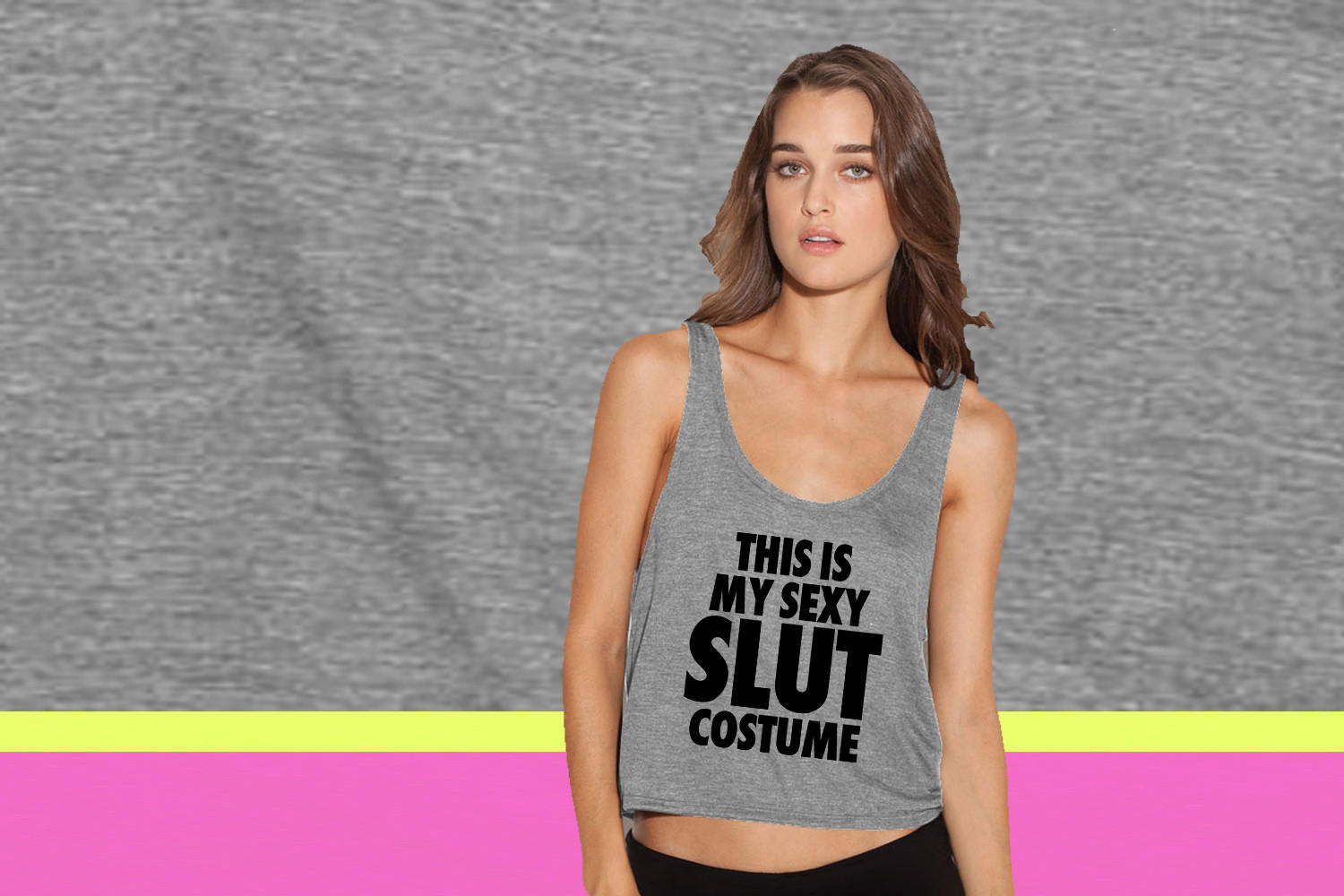 Sexiest tank top sluts really