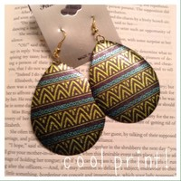 Cool print earrings {buy 3 get 1 free deal}