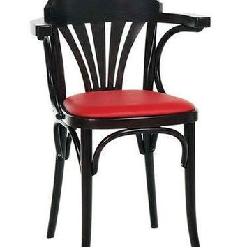 Michael Thonet B24 Bentwood Chair (Upholstered)