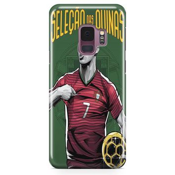 Portugal World Cup Samsung Galaxy S9 Case | Casefantasy