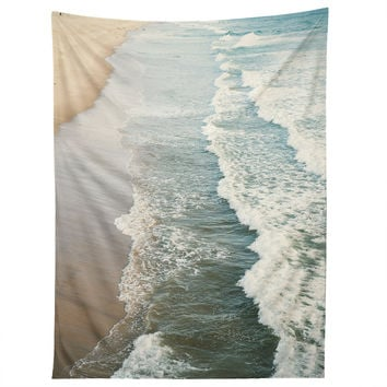 Bree Madden Shore Waves Tapestry