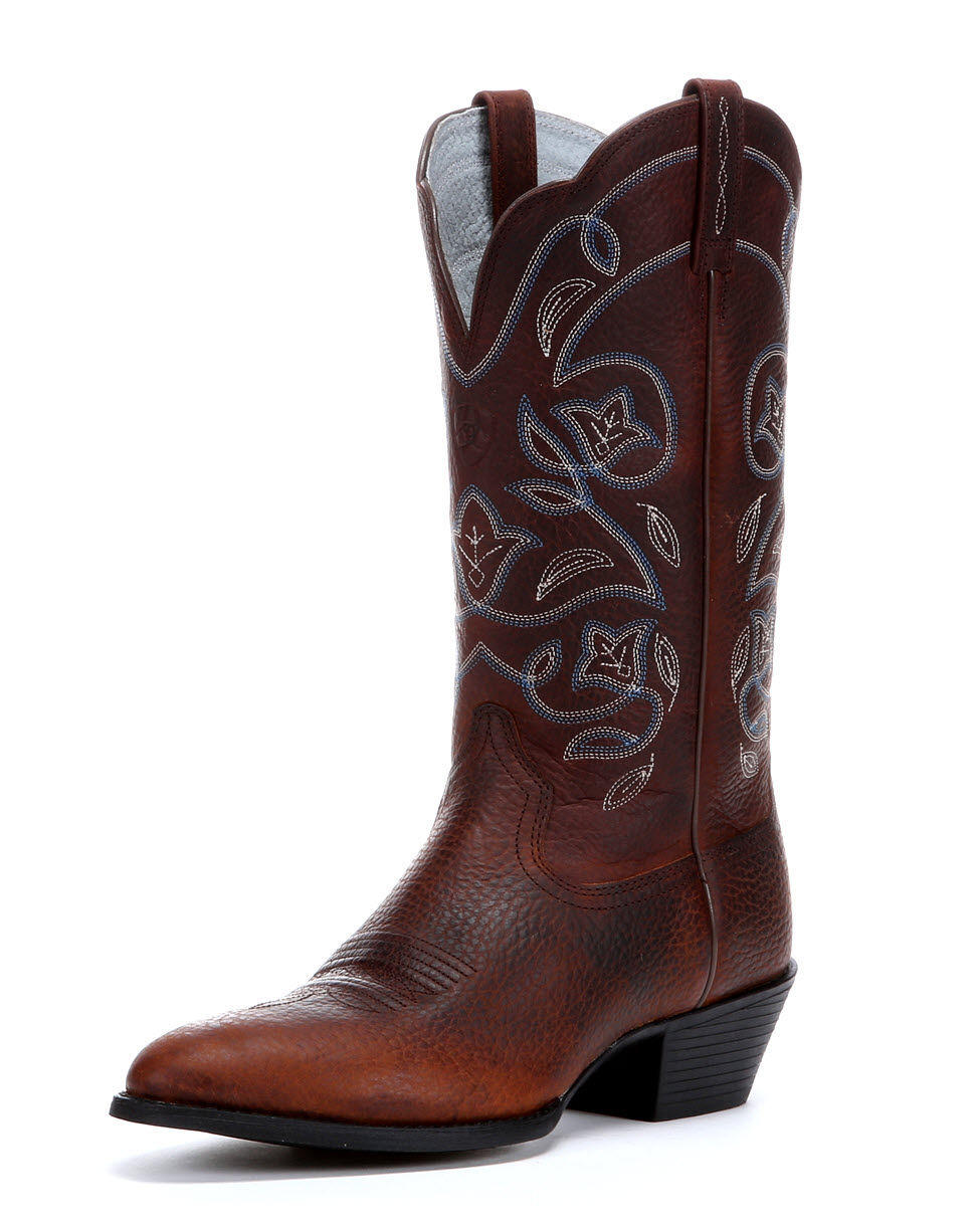 ariat s heritage western r toe boot from country