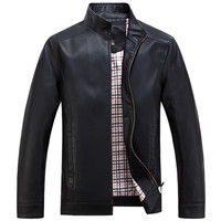 Leather Jackets Men's jacket male Outwear Men's Coats