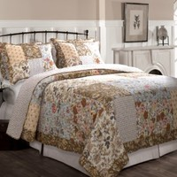 Greenland Home Camilla Quilt Set, King