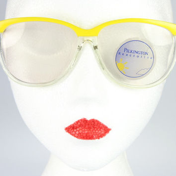 Mellow Yellow Vintage Sunglasses