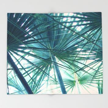 Tropical V3 #society6 #buyart #home #lifestyle Throw Blanket by 83oranges.com