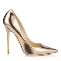 Nude Mirror Leather | Anouk | JIMMY CHOO Shoes