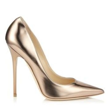 Nude Mirror Leather   Anouk   JIMMY CHOO Shoes