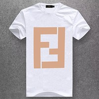 Fendi Fashion Casual Short Sleeve Top Tee