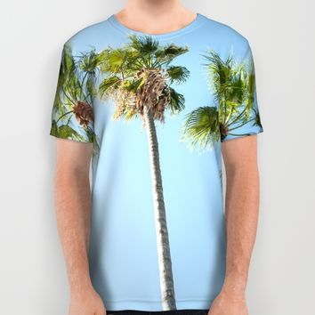 Palm trees All Over Print Shirt by Xiari_photo | Society6