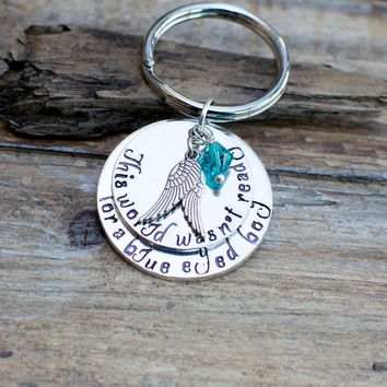 Sympathy Gift for Mother Loss of a Son Memorial Jewelry Angel Wings Keychain Miscarriage Keychain Sympathy Gift For Mother Child Grief