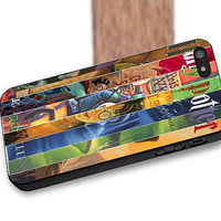 Harry Potter Collage Books Cover, iPhone 6,6 Plus,5c,5/5s,4/4s, iPod Touch 4,5, Samsung Galaxy s3,s4,s5, Note 2,3