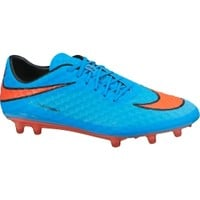 Nike Men's Hypervenom Phantom FG Soccer Cleats - Blue/Orange | DICK'S Sporting Goods