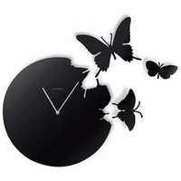Creative Butterflies large contemporary Wall Clock - Modern Wall Clocks - Home Decor Ideas Rhinestones iPhone 5 4S 3GS Cases, Couple Necklaces / Wedding Rings & Uncommon Gift Ideas - Worldwide Shipping