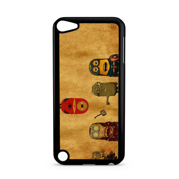 Despicable Me Minion Avengers iPod Touch 5 | 5th Gen case