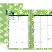 "Dabney Lee for Blue Sky ""Clementine"" Small Tabbed Weekly/Monthly Wire-O Planner"