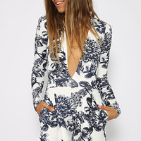 Anthea Playsuit - Floral