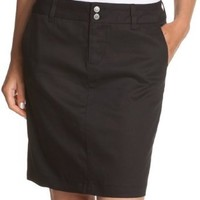 Dickies Juniors Uni Double-Buttoned Twill Skirt- School Uniform