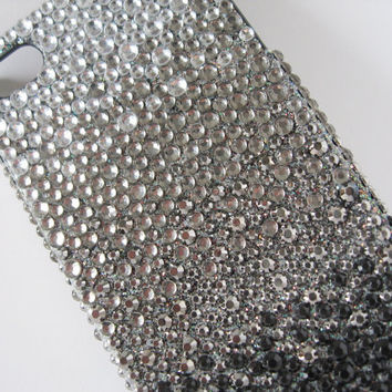 Black Cascade iPhone 4 case, iPhone 4 case, iPhone 4s case, Cool iPhone 4 case, Bling iPhone 4 case, iPhone 4 bling case