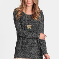 Arctic Nights Marled Sweater - $48.00 : ThreadSence, Women's Indie & Bohemian Clothing, Dresses, & Accessories