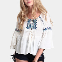 The High Desert Embroidered Blouse
