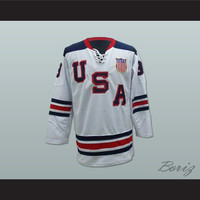 Zach Parise USA National Team Hockey Jersey Any Player or Number