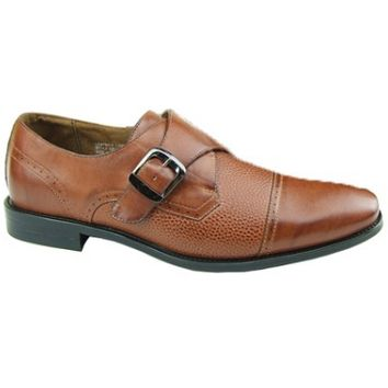 Men's  Monk Strap Shoes- Brown