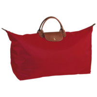 Travel bag - Le Pliage - Luggage - Longchamp - Red - Longchamp United-States