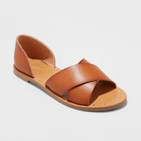 Women's Lois Open Toe Slide Sandals - Universal Thread™