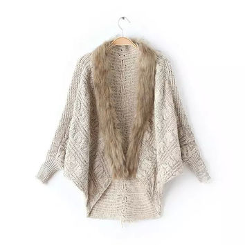 Women's Fashion Winter Cardigan [6439083460]