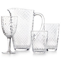 Home Design Studio Clear Acrylic Drinkware Collection, Only at Macy's