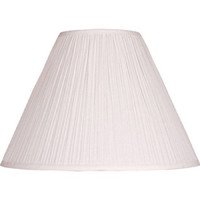 Mainstays Soft Pleat Lamp Shade, Beige