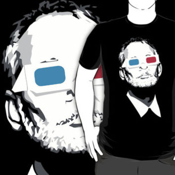 bill murray 3d kcco custom black logo t-shirt tshirt