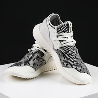 Adidas Originals Tubular Entrap Women Black&White Leisure Running Sports Shoes